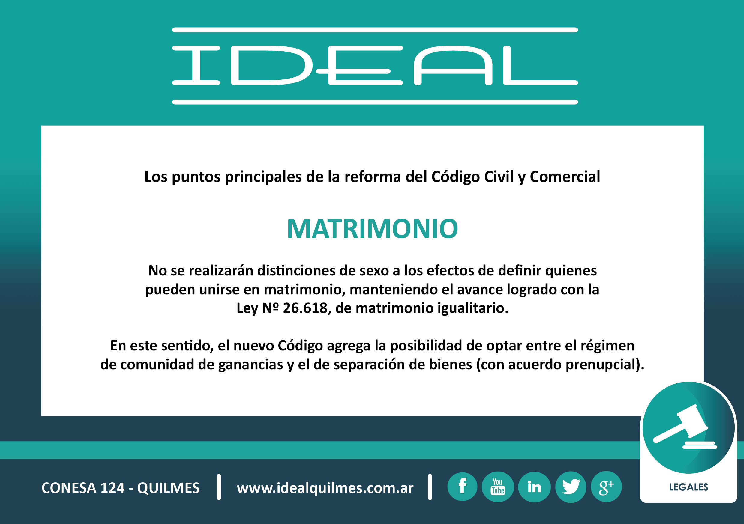 Matrimonio Uruguay Codigo Civil : Reforma del cÓdigo civil y comercial ideal